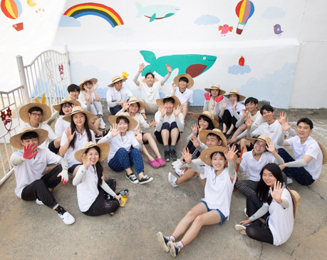 SK Young Volunteer Group SUNNY image.